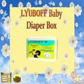 LYUBOFF Baby Diaper Box (1 use)