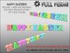 Cartel happy easter