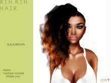 R I H  R I H hair [Black/Brown] - By Naomie Dirval