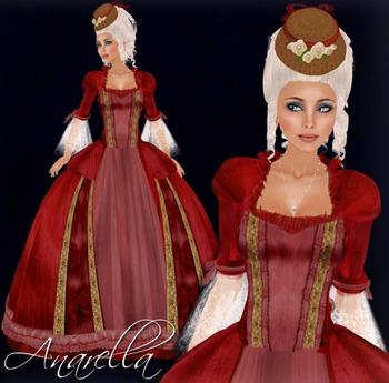 [K~*~S] Anarella - Gown - Rose