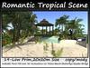 Romantic Tropical Scene 19 Prim 20x20m Size Copy/Mody