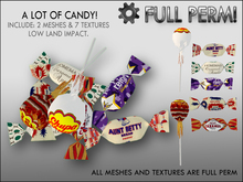 LOT OF CANDY - Full perm