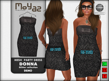 Donna mesh party dress ~ Glitter collection - DEMO