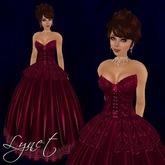 [K~*~S] Lynet - Gown - Ruby