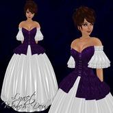 [K~*~S] Lynet - Wench Deux - Gown - Amethyst