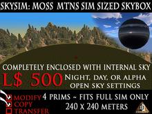 SKYSIM: MOSS MTN SIM SIZED SKYBOX