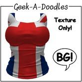 Geek-A-Doodles BG Tank Texture - Uk