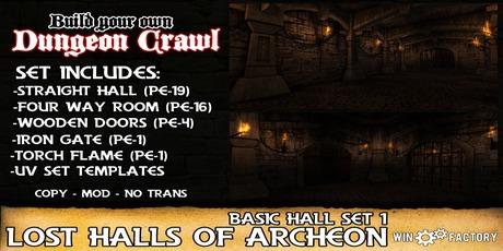 Win Factory Lost Halls of Archeon- basic hall set 1