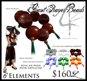 -Giant Prayer Beads- (6 Elements) - by Khyle Sion at ~RW~