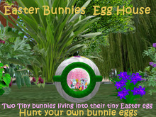 Easter Bunnies  Egg House