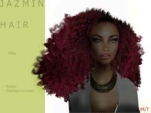 J A Z M I N Hair Dark/Pink Tipped - By Naomie Dirval
