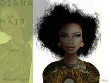 D I A N A hair black- By Naomie Dirval