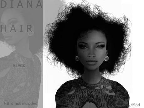 DEMO D I A N A Hair by Naomie Dirval