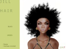 J I L L Hair Dark - By Naomie Dirval