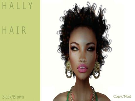 H A L L Y Hair by naomie Dirval