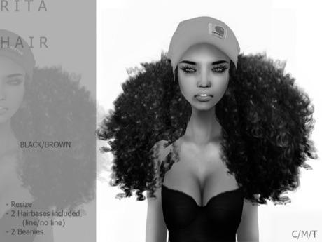 DEMO R I T A  Hair Dark - By Naomie Dirval