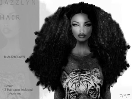 DEMO J A Z Z L Y N Hair Dark - By Naomie Dirval