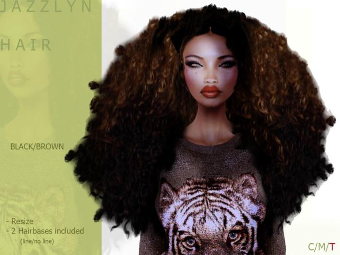 J A Z Z L Y N Hair Dark/Brown - By Naomie Dirval