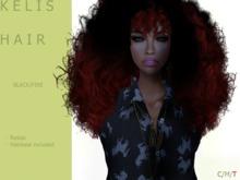 K E  L I S Hair Dark/Fire - By Naomie Dirval