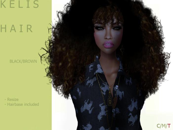 K E  L I S Hair Dark/Brown - By Naomie Dirval