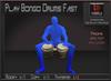 Musical *Play Bongo Drums Fast* Copyable Poseball