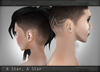 AITUI™ - 5 Etched Hair Bases - A Star, A Star [Unisex]