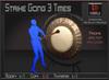 Musical *Strike Gong 3 Times* Transferable Poseball