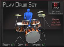Musical *Play Drum Set* Transferable Poseball