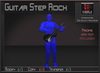 Musical *Electric Guitar Step Rock* Transferable Poseball