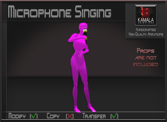 Musical *Microphone Singing* Transferable Poseball