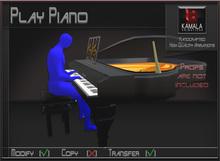 Musical *Play Piano* Transferable Poseball