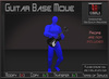 Musical *Electric Guitar Base Move* Animations for Builders