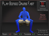 Musical *Play Bongo Drums Fast* Animations for Builders