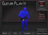 Musical *Electric Guitar Play It* Animations for Builders