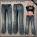 DN Mesh Baggy Jeans - Warm