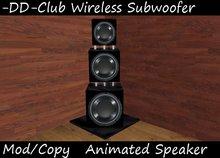 -DD-Club Wireless Subwoofer Triple Power Tunes BOX