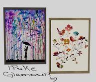 iPuke Glamour Spring Set Frame Art (Mesh)