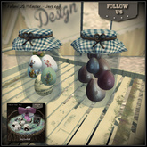 !! Follow US !! Easter - Vintage and chocolate jars