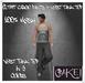 [[>CaKe!<]]-Mesh outfit cargo pants + vest tank top-Black