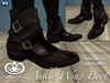 Ankle Wrap Boots For Men - Brown [Fitted Mesh]