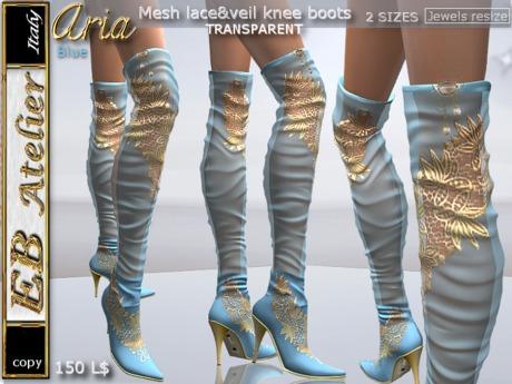 designer knee boots