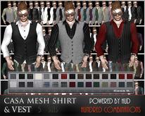 Casa Mesh Vest with Shirt (15  x 15 options)