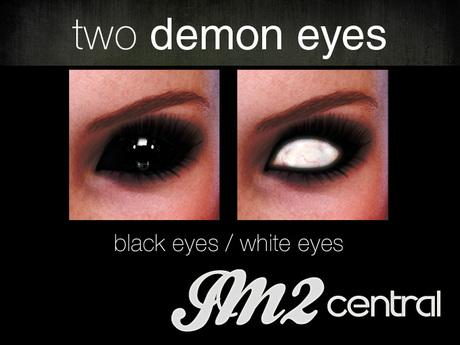 Two demon eyes