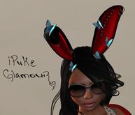 iPuke Glamour - Easter Ears - Red
