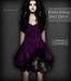 Corvus : Ripped Purple Doll Dress