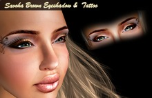 savoha brown eyeshadow & tattoo SALE
