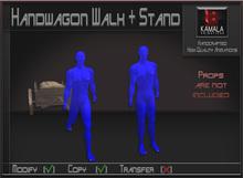 Vehicles *Handwagon Walk + Stand* Copyable Poseballs