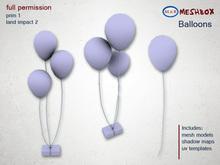 *M n B* Balloons (meshbox)