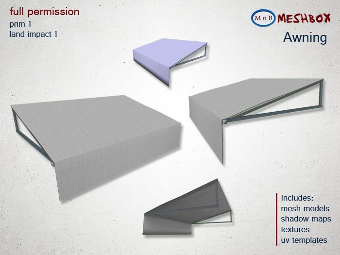 *M n B* Awning (meshbox)