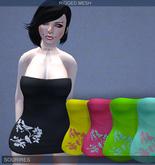 SOURIRES - Nature Mini Dress - Fatpack [MESH] (Femme)